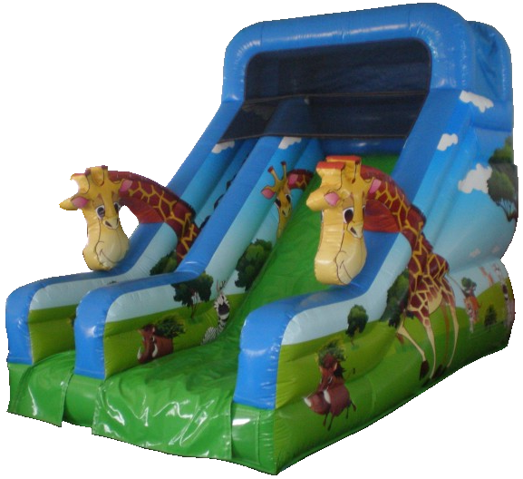 giraffe-slides-jumping-castle